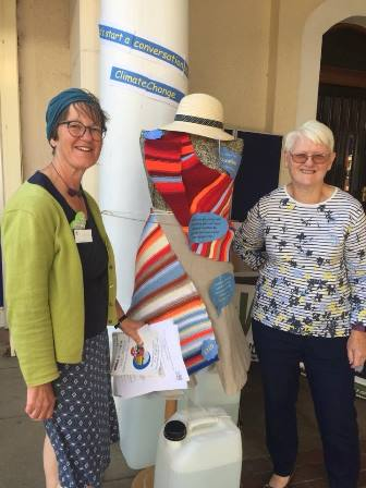 Braunston WI members with Cloudier