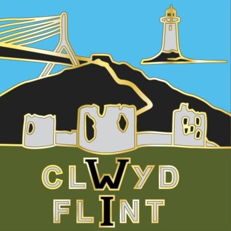 Clwyd Flint Federation badge