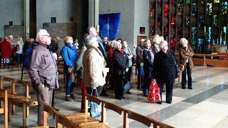 Inside Coventry Cathedral