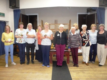Champions Welton WI with County Chairman