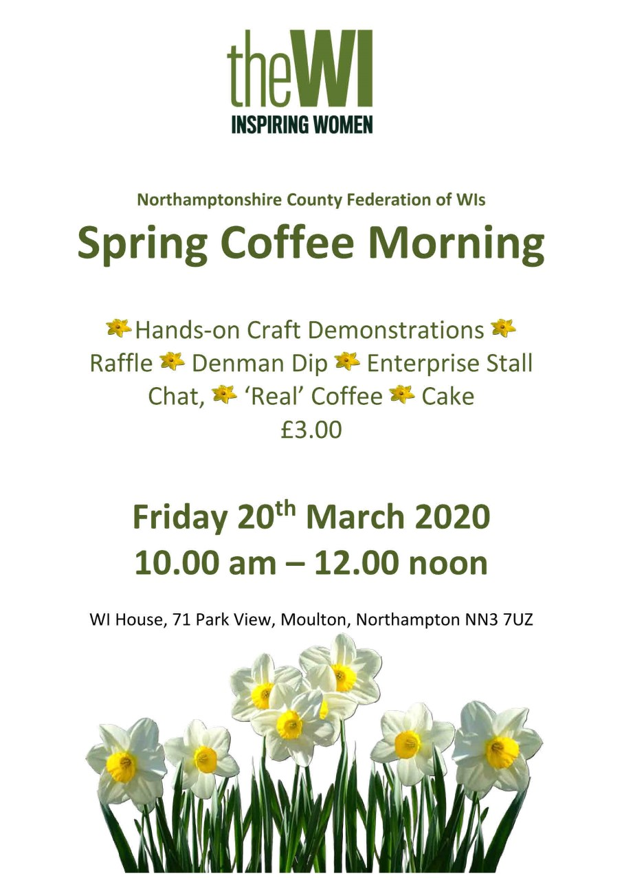 Spring Coffee Morning