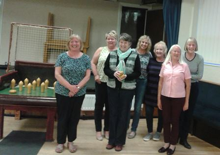 Wootton WI - runners up 2016 Skittles Tournament
