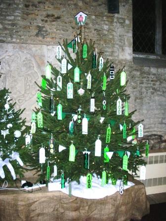 Geddington & Newton WIs Centenary Christmas Tree