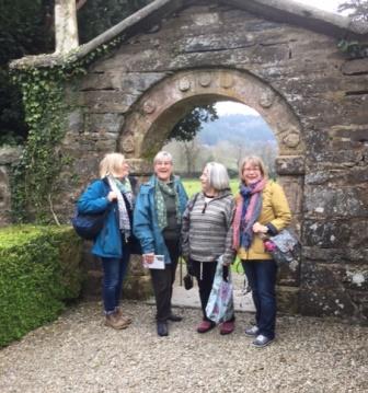 Jane smiling at Gwydir Castle