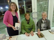 Prue Leith with Gwen Blackburn & Sue Hamilton