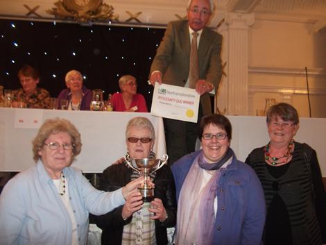 Winners April 2013 Hunsbury Hill WI