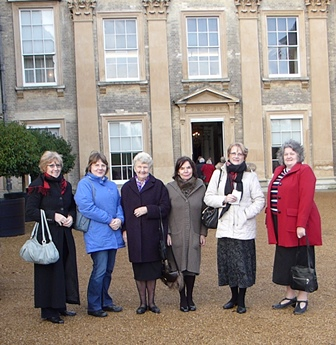 Barbara is a dual member of Wootton Wi and went to Christmas Afternoon Tea at Althorp