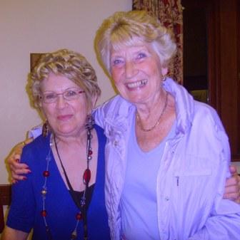 Speaker Ruth Thomas with Diana Wilson